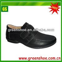 Fashion Design Boys Black School Shoes for teenager