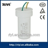 CBB60 White Plastic Wire Type Washing Machine Motor Capacitor