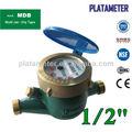 multi jet tipo seco contador del agua
