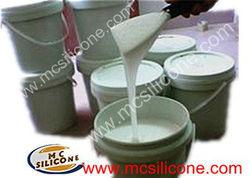 Liquid white mould making rtv silicone rubber