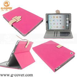 2014 new stylish For ipad mini leather case