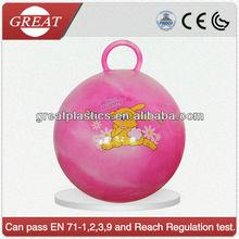 Round handle jumping ball Hopper Ball Skip ball toy ball