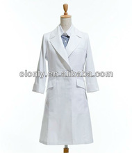 100% cotton white color Doctor uniforms Doctor coat Lab coat