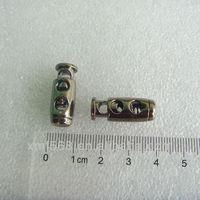 double cord lock for garment accessory