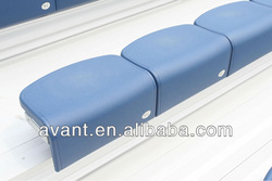 public sports court bleacher seat,plastic bleacher seat,plastic tribune chair,plastic grandstand chair for soccer,football