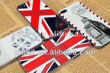 National flag design fantastic 3D carving mobile phone case for iphone 5