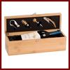 OEM Custom Bamboo Wine Box With Tools