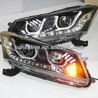 For HONDA Accord LED Head Light 2008-2011 year U Type TLZ