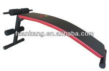 bow sit up bench / hot sale adjustable abdominal bench FAK-3304