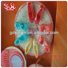 Eco friendly plastic doll toy accessories shoes
