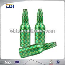 Aluminum unique beer drinking bottles