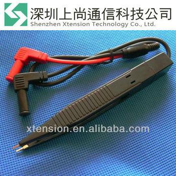 IC SMT SMD Multimeter Tweezer Electronic component Plastic Test Clip Probes