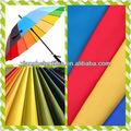 Tafetán del poliester de plata de la tela del paraguas de la tela árabe