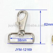 high quality fashion metal dog buckle for hangbag