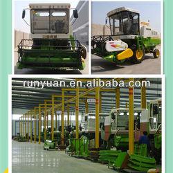 4LZ-2 full feeding wheat cutting machines