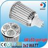 gu10 e27 mr16 6w 3w 12v led spot light led mr16 bulb