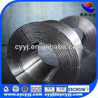 SiCa Cored Wire/CaSi cored wire ferro alloy /calcium silicon alloy silicon calcium alloy