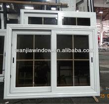 Aluminium frame sliding glass window