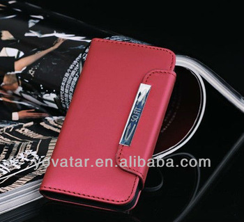 NEW high quality magnetic leather case For iPhone 5s 5