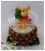 Resin deer figurine snow globe souvenir