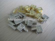 zipper accessory pin box and insert pin