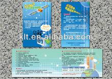Glossy Varnish header card package