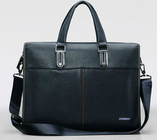 2013 business brands leather real leather man bag EC8211