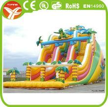 2014 Inflatable Dinosaur Slide