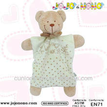 GOTS plush toys new collection baby teddy comforter