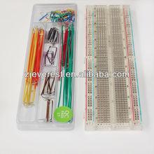 Starter Kit, 830 Point Clear Solderless Breadboard Electronic Board with U-Shape Wire Box