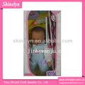 Sld-396 mais vendidos novo renascer boneca com stroller pram vinil plástico carrinho de 20 polegada