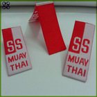 Clothes brand logo/centerfold woven label/martial arts accessories