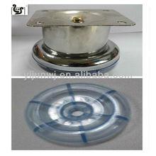 Vendite caldo elegante cromo vite tubo in acciaio inox divano gambe yj-841