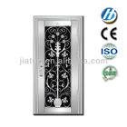 wrought iron entry doors used metal security screen doors