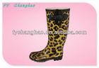 Women fashion rubber rain boots cheap ladies shoe LD2013040720