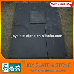 Natural black slate of outside paving stone