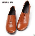 2013new arrival fashionable comfortable durable genuine leather mama shoes