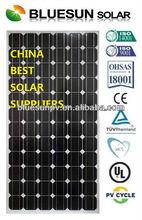 Bluesun high quality mono solar panels 200 watt