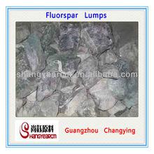 Natural Fluorspar Lumps for Export