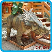 Funny! Large Toy Dinosaur Park Amusement Ride