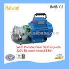 portable gasoline ,benzene transfer pump/wcb electric oil transfer pump/m