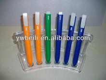 bookmark pen,page-marker ballpoint pen,label ball pen