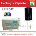 Ganga compra condensador 2.2 uf 50 v / 63 v de baja tensión tapas de la fábrica del OEM