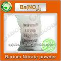 99.3% nitrato de bario químicos fórmula de materia prima para los fuegos artificiales