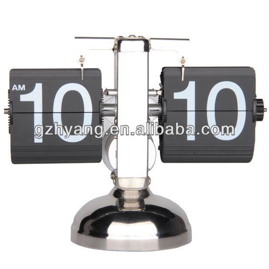 2013 new style retro balance flip desk clock