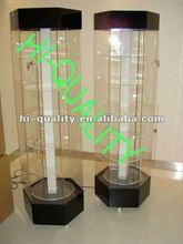 Rotating Acrylic Light Box , Acrylic Display Case