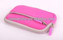Zipper cute neoprene camera pouch with a pocket
