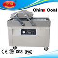 Doble dzq-400-1 salchichas chaflán de envasado al vacío de alimentos de la máquina de embalaje