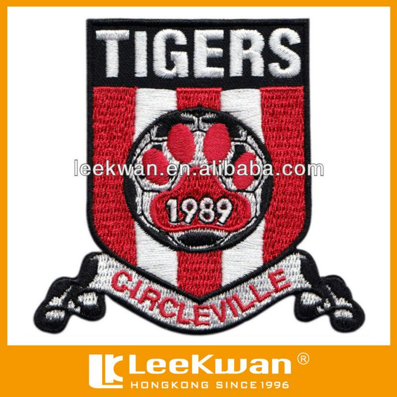 Tiger Paw Logo Tiger Paw Soccer Team Logo Embroidery Badge Jpg