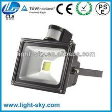 50W PIR Motion Sensor LED Flood Light Security Lighting with UL